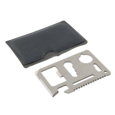 Credit Card Multi-tool Stainless Steel 2