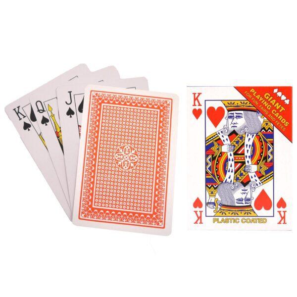 Giant Jumbo Playing Cards 17cm x 12cm