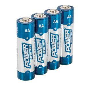 AA Super Alkaline Batteries 4pk