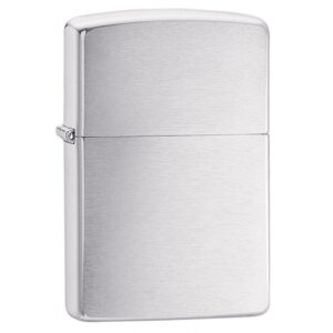Zippo Armor Brushed Chrome Lighter