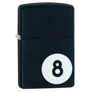 Zippo Billiards 8-ball Lighter