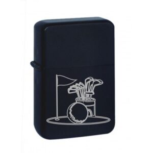 golf black matte star lighter