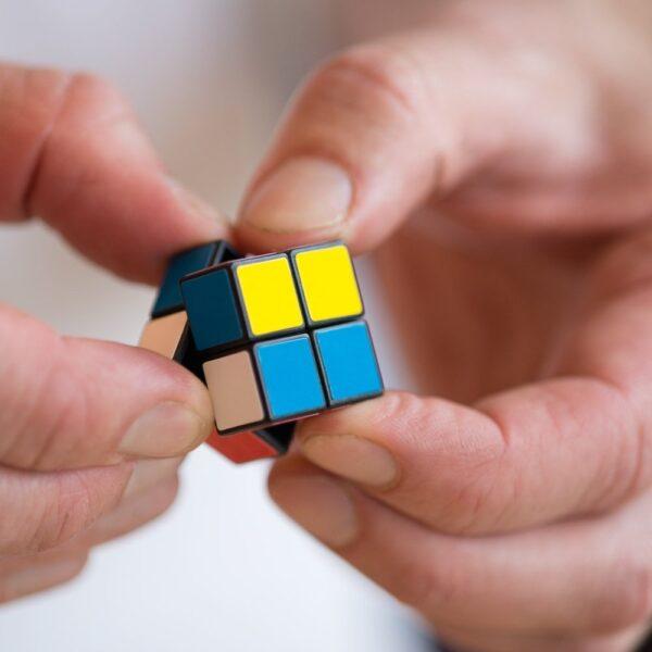 Mini Magic 2 X 2 Fidget Cube