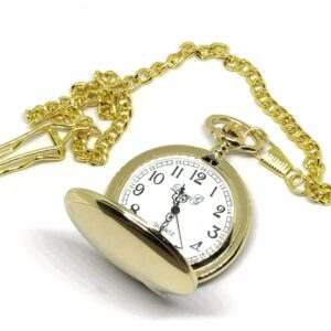 Classic Gold Pocket Watch Open