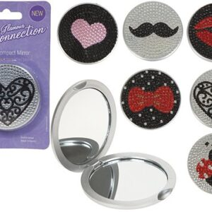 Ladies Pocket Compact Mirror
