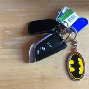 Batman Key ring on Car Keys