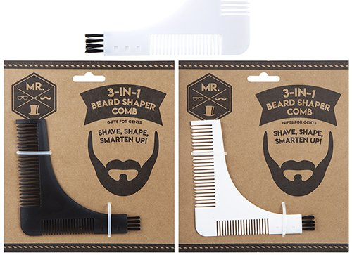 3-in1 beard shaper and comb