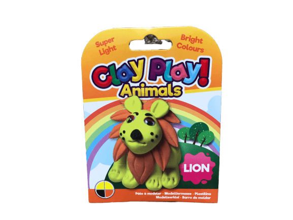 play-clay-lion