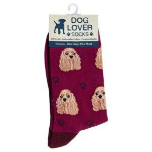dog-lover-socks-cocker-spaniel