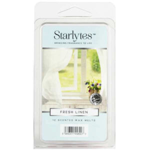 starlytes-fresh-linen-scented-wax-melts