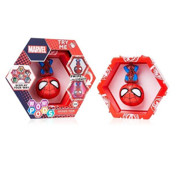 POD Marvel Spiderman Box with Product 502