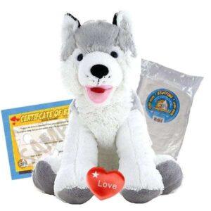 Snowshoe-husky-build-a-bear-kit