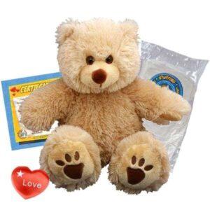 build-a-bear-brown-furry-bear-kit