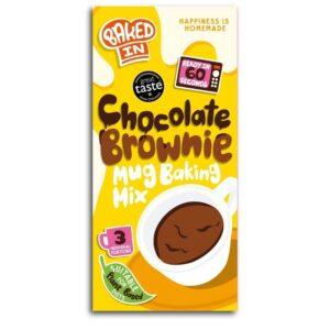 Chocolate Brownie Mug Baking Kit
