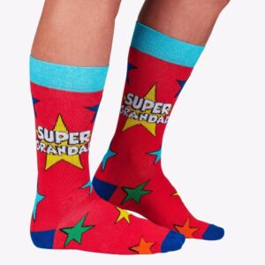 Super Grandad Novelty Socks