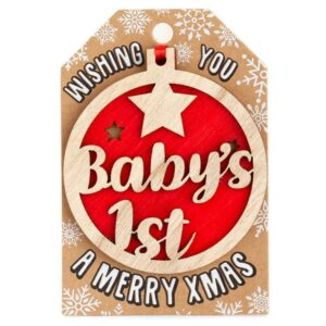 babys-1st-christmas-wooden-tree-decoration