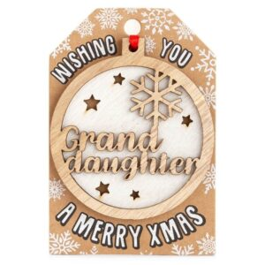 personalisted-tree-decoration-grand daughter