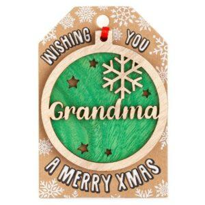 personlaised-grandma-tree-decoration