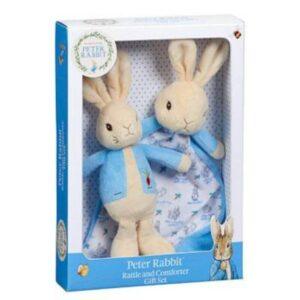 peter-rabbit-rattle-comforter-gift-set